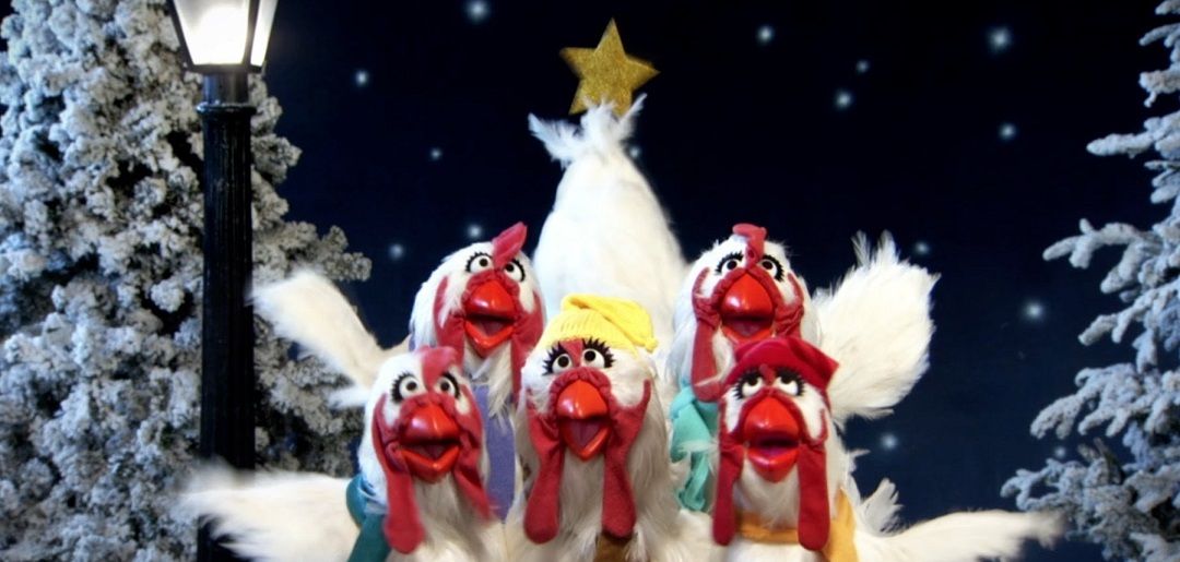 muppet christmas chickens