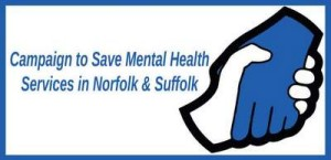 Lobby of lead commissioners for mental health in Norfolk - North Norfolk CCG - Tuesday 21 January 2014