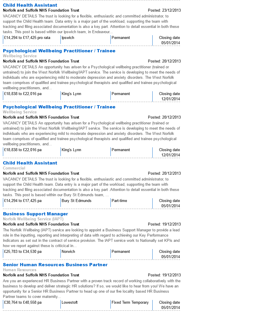 NHSJobs NSFT Vacancies 28.12.13 page 4
