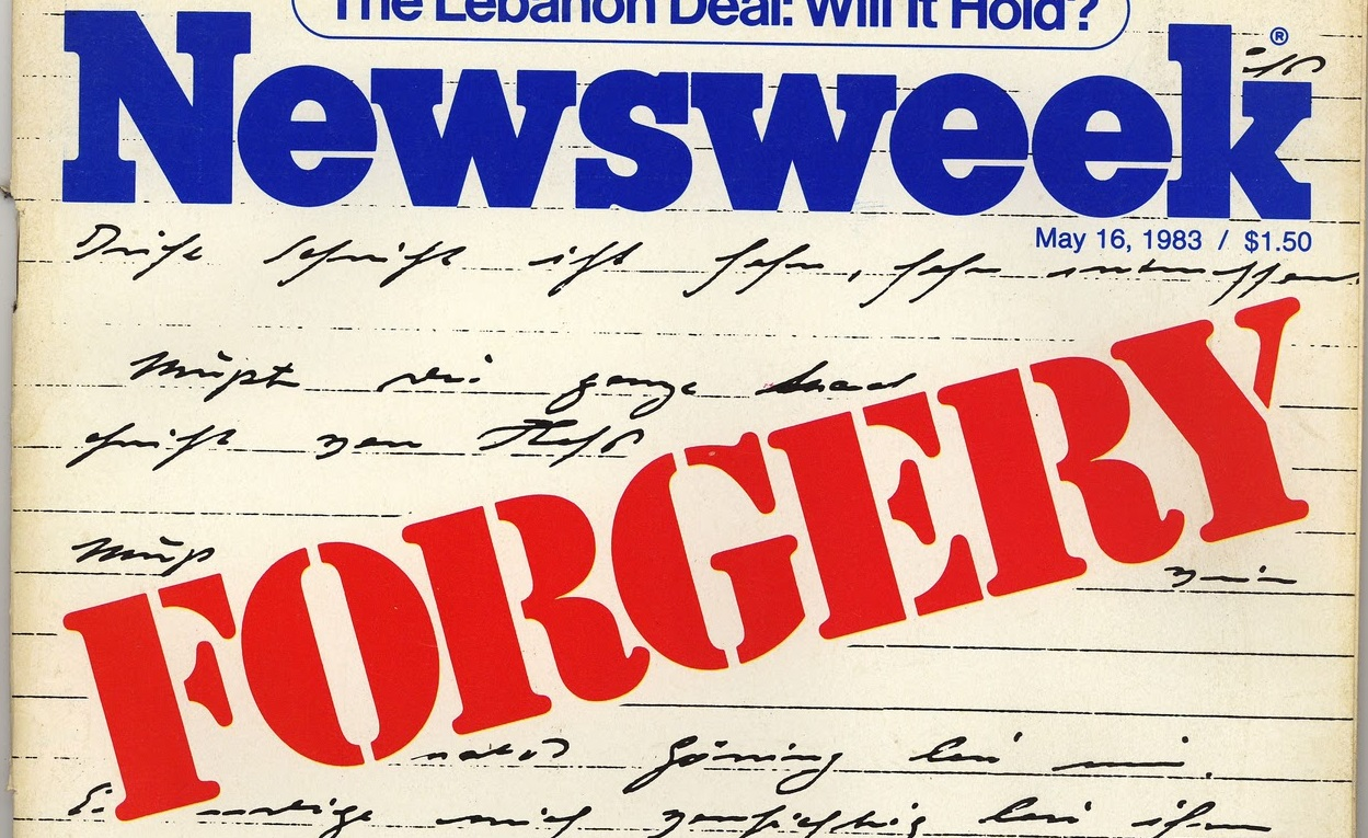 Newsweek Forgery - fake capacity