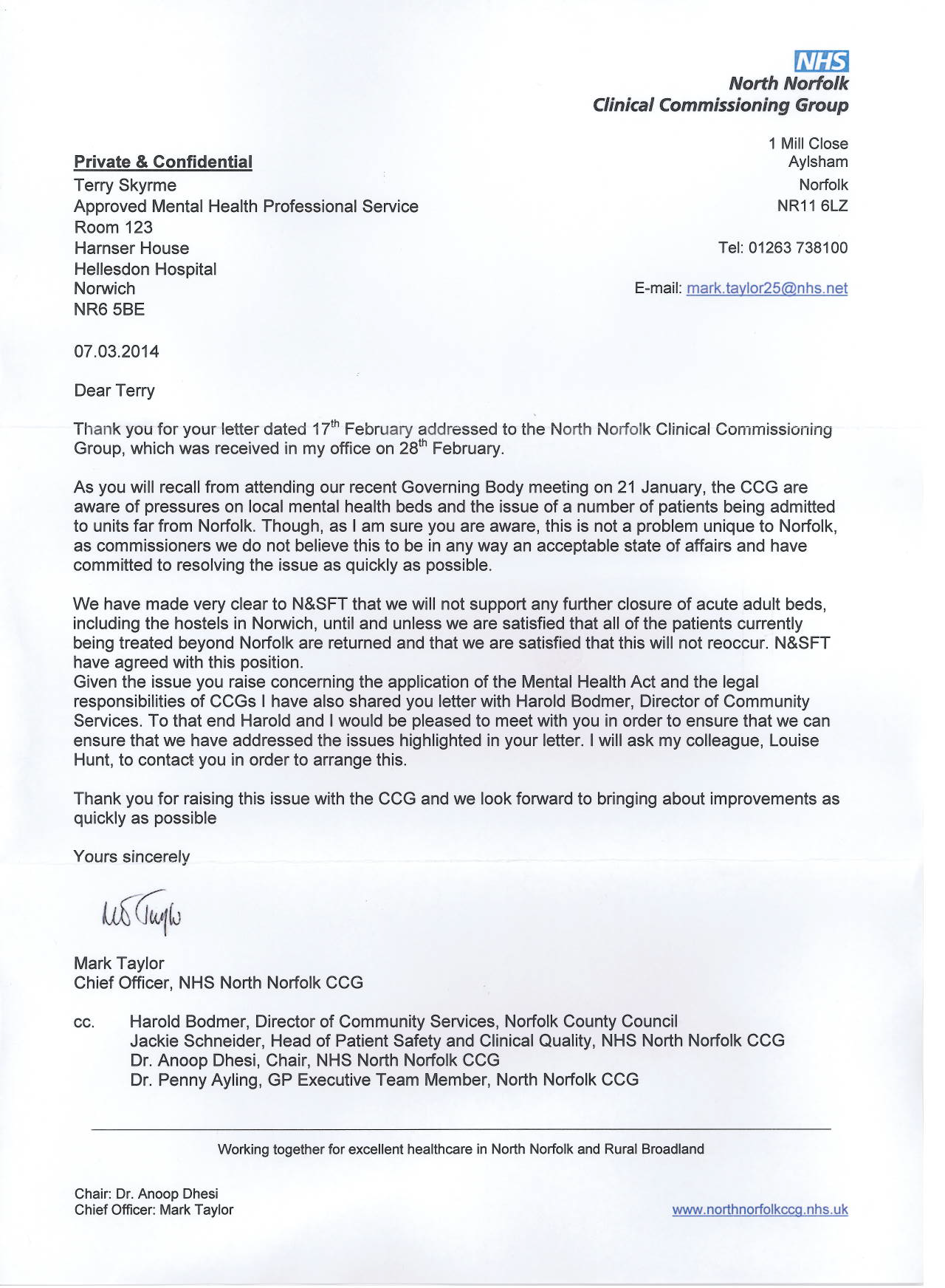 Example Referral Letter To Camhs