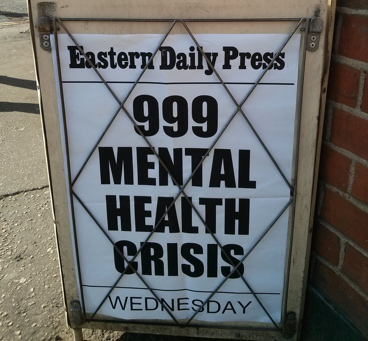 EDP 999 Mental Health Crisis