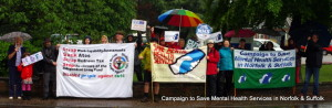 Gallery: Fantastic turnout in torrential rain for March on Lamb