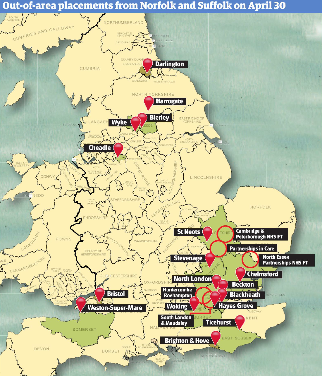 NSFT Map of Shame (courtesy of the EDP)