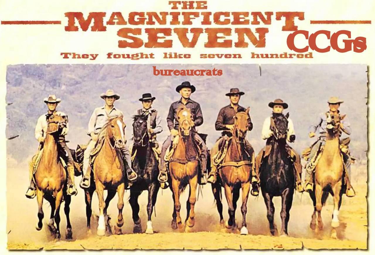 The Magnificent Seven CCGs