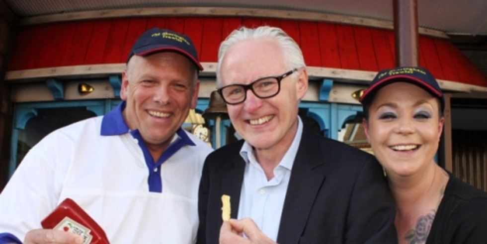 Norman Lamb should stick to what he is good for - opening chip shops