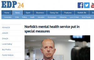 EDP: Norfolk's mental health service put in special measures