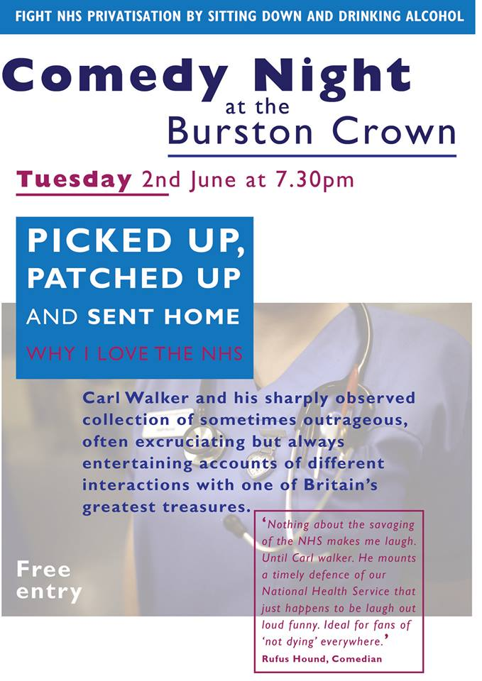 Burston Crown Comedy Event