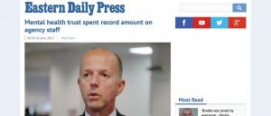 EDP: Mental health trust spent record amount on agency staff