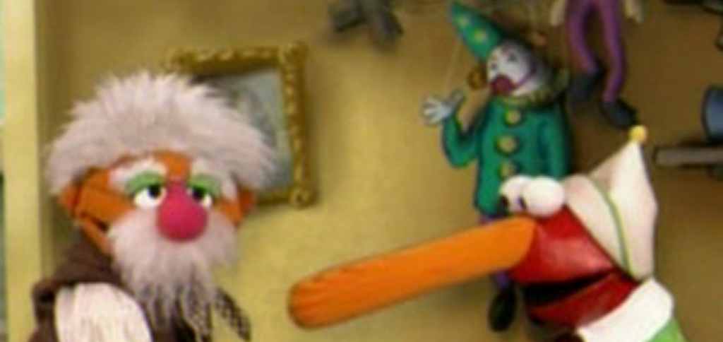 Pinocchio Muppet