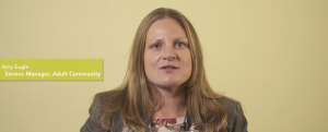 Video: Amy Eagle's contribution to NSFT's corporate video for the first CQC inspection vs BBC coverage of Alexander Report