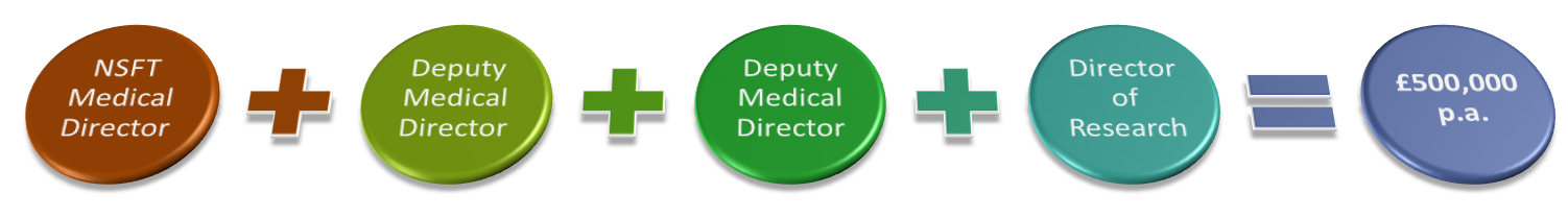 The new proposed medical management structure at NSFT