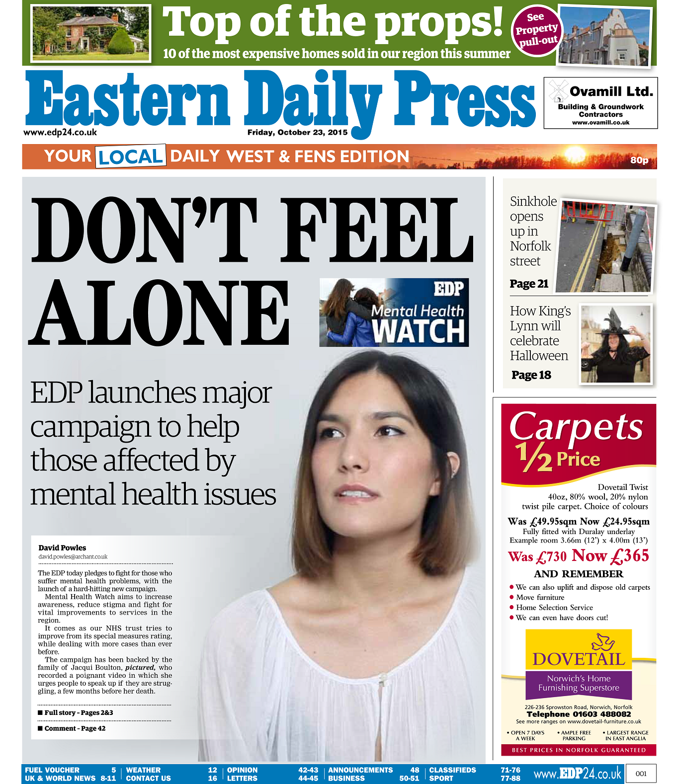 EDP Mental Health Front