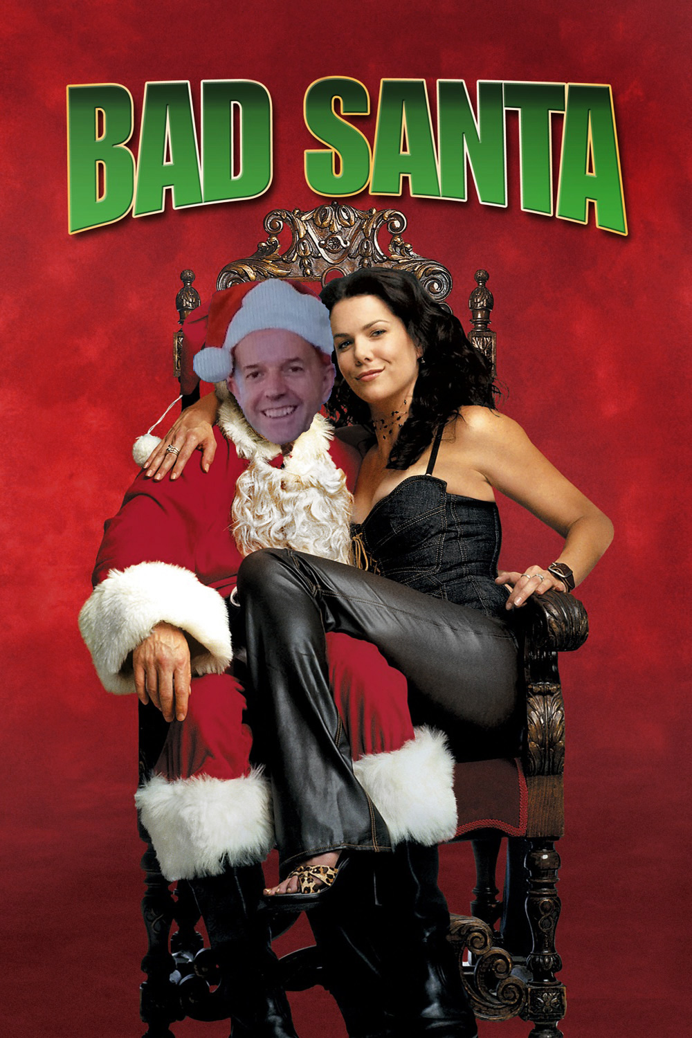 Bad Santa Merry Christmas and £175K per year edited
