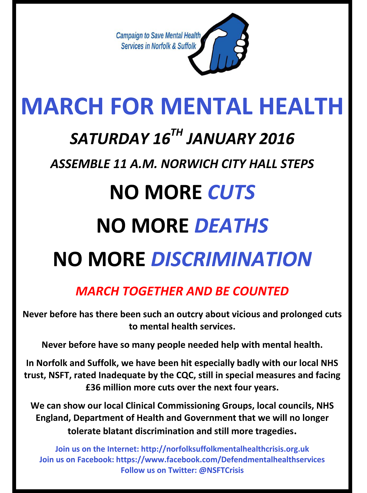 March for Mental Health