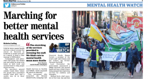 EDP: Marching for better mental health services