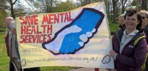 Gallery: March for Mental Health, King's Lynn