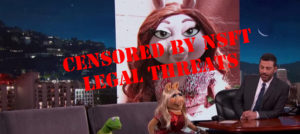 Muppets interview censored by legal threats