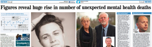 EDP: 'It is horrendous' - Figures reveal huge rise in number of unexpected mental health deaths