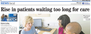 EDP: 'It is deeply troubling' - Number of mental health patients in Norfolk and Suffolk waiting longer than national standard rises by nearly 200pc