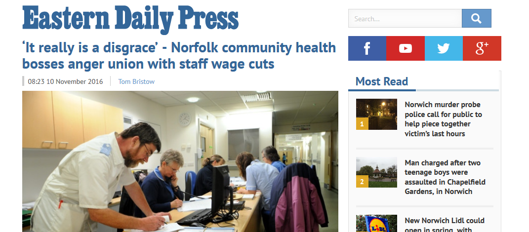 edp-it-really-is-a-disgrace-norfolk-community-health-bosses-anger-union-with-staff-wage-cuts
