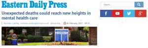 EDP: Unexpected deaths could reach new heights in mental health care