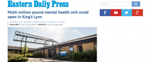 Beds Crisis: A Partial Victory? Closure of last mental health beds in West Norfolk halted?