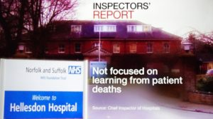 Video: BBC National News at Six: NSFT rated Inadequate and placed into Special Measures for Second Time