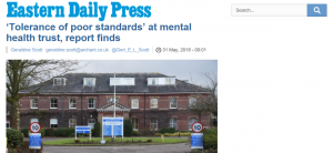 EDP: 'Tolerance of poor standards' at mental health trust, report finds