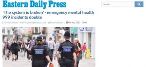 EDP: 'The system is broken' - emergency mental health 999 incidents double
