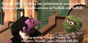 Election 2019: Fireworks Night: Invitation: Holding our politicians to account: 6.30 p.m. on Tuesday 5th November at the Vauxhall Centre, Norwich NR2 2SA