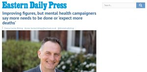 EDP: Improving figures, but mental health campaigners say more needs to be done or 'expect more deaths'