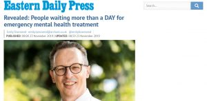 EDP: Revealed: People waiting more than a DAY for emergency mental health treatment