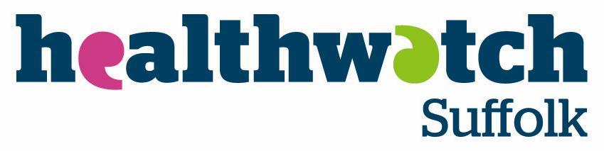 Healthwatch Suffolk logo
