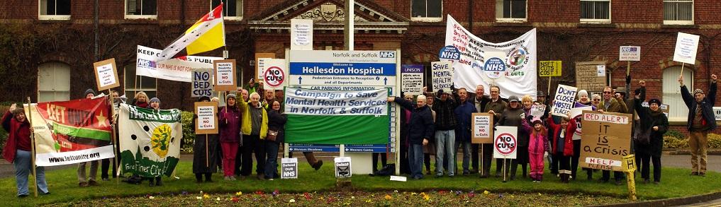 Hellesdon Demonstration crop