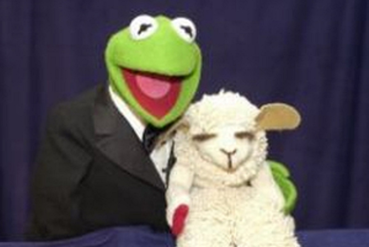 Muppet puppet Lamb Chop