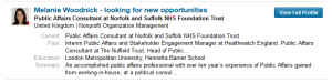 Recruitment Crisis Newsflash: Rather than spend money on frontline staff or beds, another expensive spin doctor joins NSFT instead