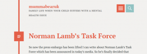 mummabearuk: A CAMHS carer responds to Norman Lamb's 'taskforce'