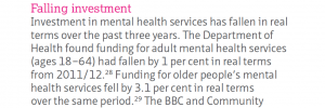 NHS Confederation report exposes cuts and duplicity of 'mental health champion' Norman Lamb