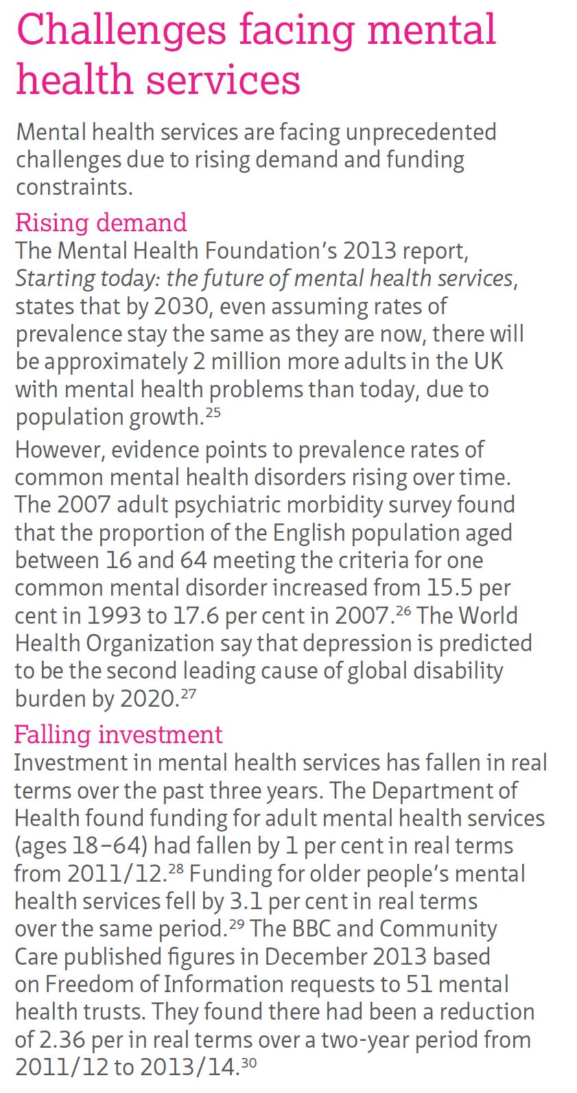 NHS Confederation report exposes cuts of 'mental health champion' Norman Lamb