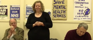 Video:  Ann Robinson from the Cambridge Save Lifeworks Campaign speaking at our Anniversary Open Meeting