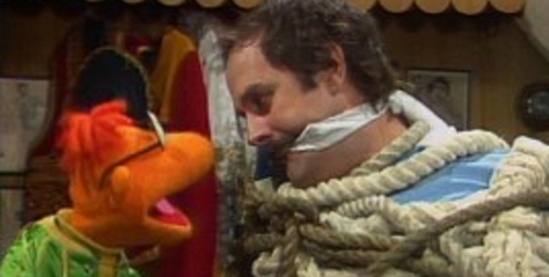 Gagged by Muppets
