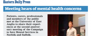EDP: Meeting hears of mental health concerns