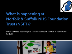 Gallery: Slides from Public Meeting: What is happening at NSFT? Do we still need a campaign?