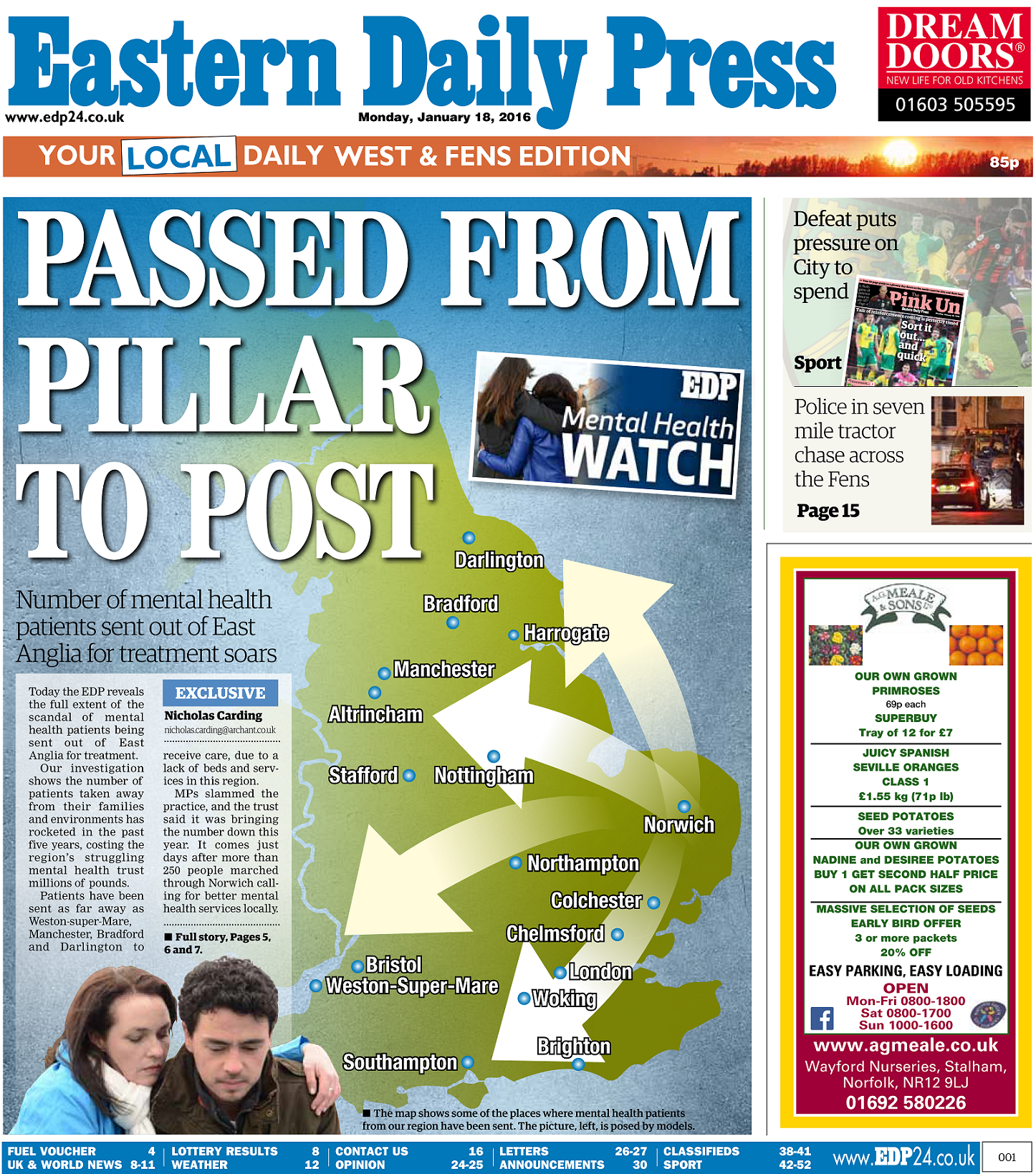 EDP Pillar to Post Front New Map of Shame