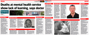EDP: Deaths at mental health service show lack of learning, says doctor