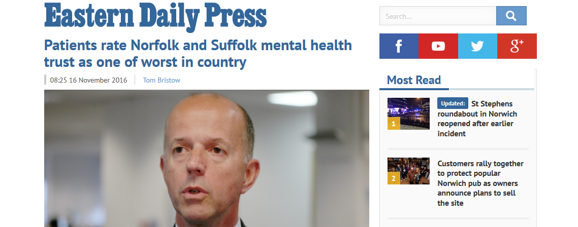edp-patients-rate-norfolk-and-suffolk-mental-health-trust-as-one-of-worst-in-country