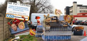 No Fly-Tipping: Dumping of Failed Management Waste on other parts of the NHS should be Illegal
