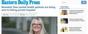 EDP: Revealed: How mental health patients are being sent to failing private hospital