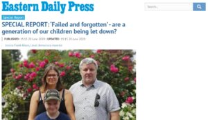 EDP: SPECIAL REPORT: 'Failed and forgotten' - are a generation of our children being let down?